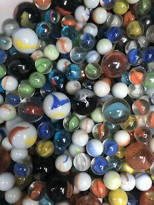Ad Bulk Marbles 3 1 2 Lbs Marble Glass Marbles Ebay