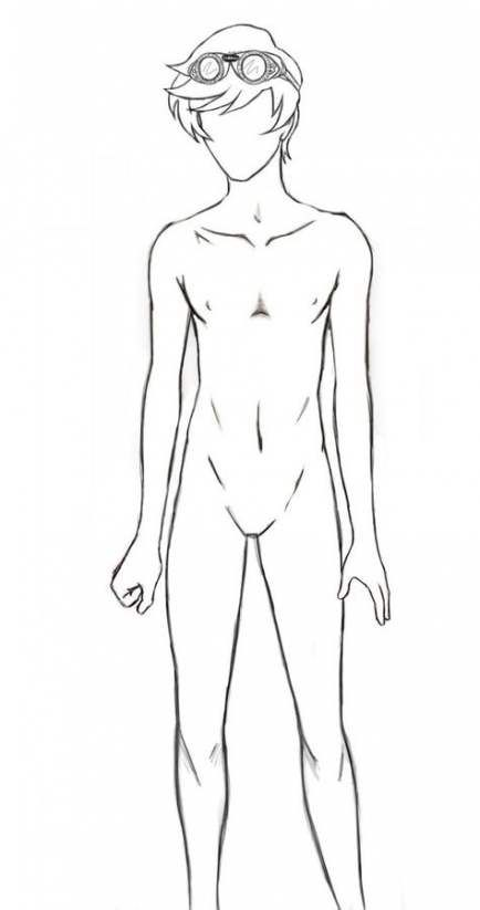 65 Trendy Drawing Anime Boy Body Pictures Anime Drawings Boy Body Outline Drawing Anime Bodies