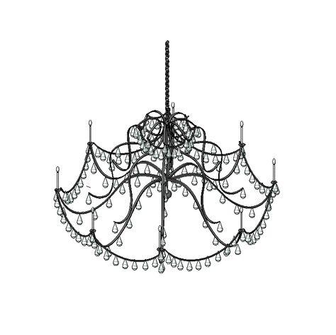 Chandelier revit models pinterest chandeliers mozeypictures Images