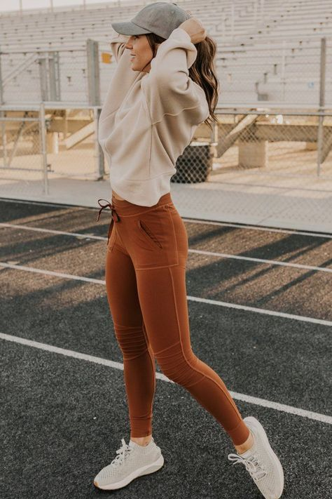 Max Tie Leggings Stretchy, breathable fabric will move with you comfortably all workout long. Designed in a moto legging style. More styles of athleisure available at ROOLEE Boutique !