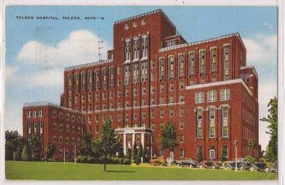 Toledo Hospital Toledo OH-1947 I was born here.... Years later if course!