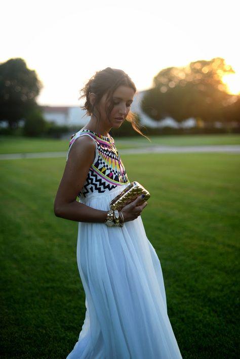 Romantic summer maxi dress - Chic Dresses and beautiful Skirts