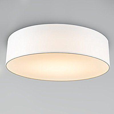 Qazqa Modern Deckenleuchte Deckenlampe Lampe Leuchte Drum
