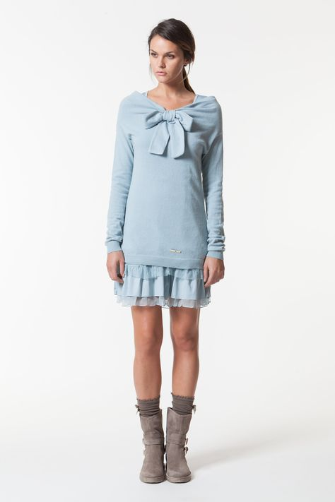 wholesale dealer 4dbcd 15f59 Dress with Bow - Twin Set FW 2013 | Wishlist | Dresses ...
