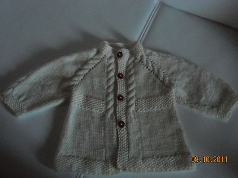 Angel - Cardigan bianco by Barbara Ajroldi - free