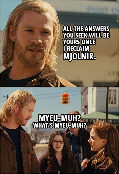 10+ Best 'Thor (2011)' Quotes