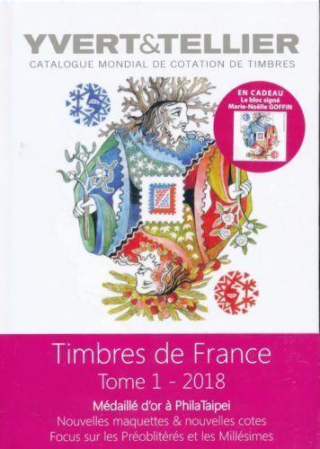 Yvert Et Tellier Timbres De France : yvert, tellier, timbres, france, YVERT, TELLIER, STAMPS, CATALOG, FRANCE, WORLD, CHAMPION, CHINA, -TAÏWAN, Timbres, France,, Millesime,, France