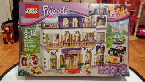 Lego Friends Heartlake Grand Hotel 41101 New Sealed Box Retired