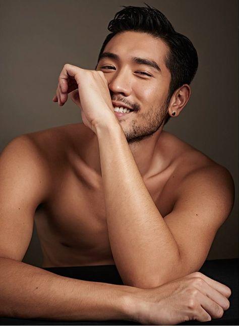 Godfrey Gao Covers Harper's Bazaar Men Thailand   Delicious Men