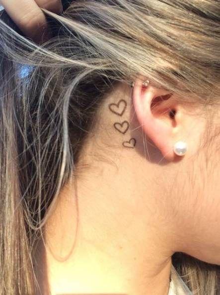 Pin By Msvillarreal On Cool Tattoos Behind Ear Tattoos Behind
