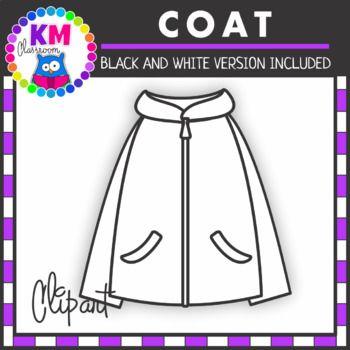 Coat Clipart By Km Classroom Teachers Pay Teachers Clip Art Classroom Clipart Teacher Classroom