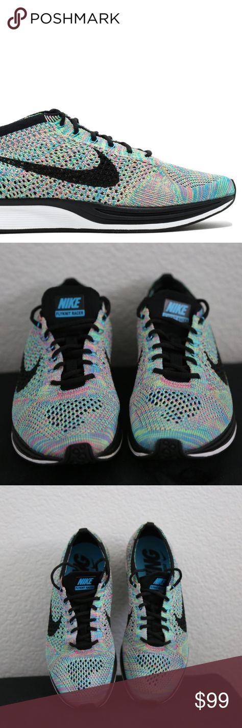 b149e3c86696b Nike Women Flyknit Racer Rainbow 7 Multi-color Nike Flyknit Racer Size 7  Women s Or