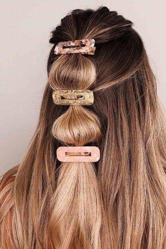 Nbsp Umarmen Die Macht Der Haar Clips Und Verwenden Sie Es Zu Ihrem Vorteil Sehr Oft Hort Man Dass In 2020 Ausgefallene Frisuren Haar Styling Glatter Pferdeschwanz
