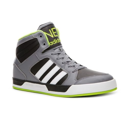 adidas NEO Raleigh High Top Sneaker Mens ($65) ❤ liked on