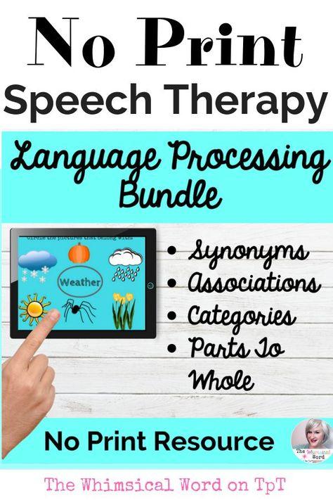 Language Processing Bundle