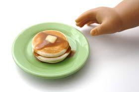 Pippaloo For Dolls February Menu List In 2020 Pancake Stack Food Menu List