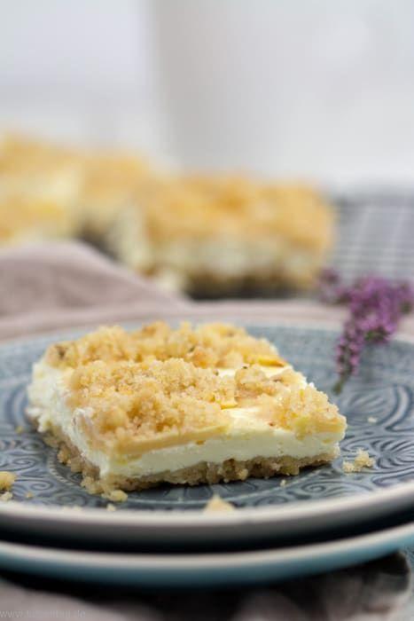 Streuselkuchen Mit Apfeln Und Quark Streusel Kuchen Quark Streuselkuchen Apfel Quark Kuchen
