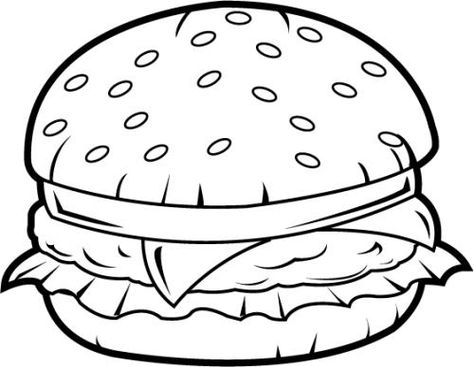 73 Burger Gif 500 388 Desenho De Hamburguer Ideias De