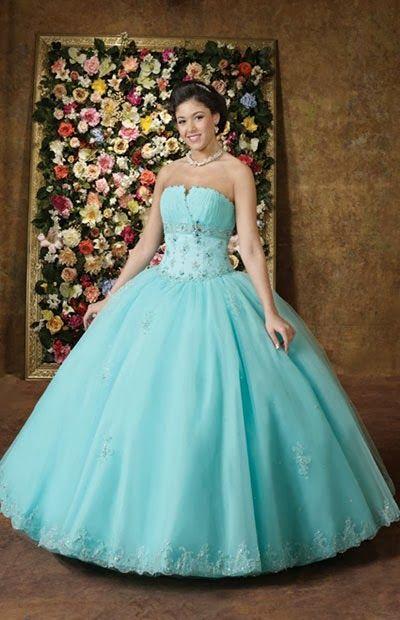 Lindos Vestidos De 15 Años Estilo Princesa En 2019 15 Años