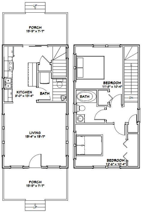 PLANOS DE CASAS GRATIS Y DEPARTAMENTOS EN VENTA Casas o - plan maison plain pied 80m2