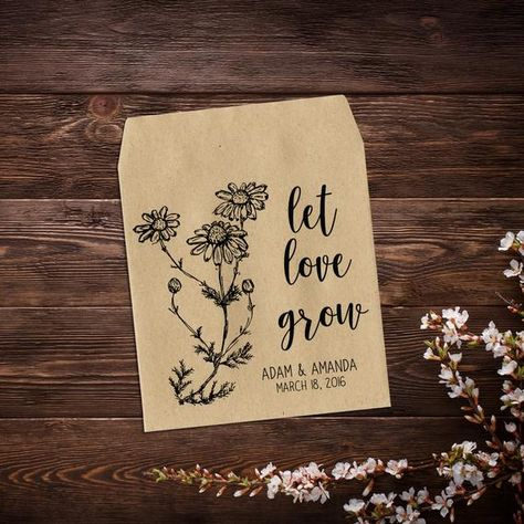 Seed Packets, Rustic Wedding Favor, Let Love # #seedpackets #rusticweddingfavor #letlovegrowfavor #weddingseedpackets #seedweddingfavor #seedpacketfavor #wildflowerfavor #seedfavor #weddingfavor #weddingfavorseeds #seedenvelopes #wildflowerseeds #weddingseedfavors