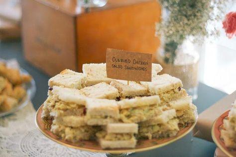 summer tea party bridal shower ideas