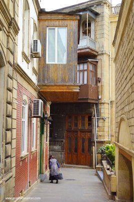 Azerbaidjan Visiter Icheri Sheher A Baku Une Pincee De Safran En 2020 Azerbaidjan Vieille Ville Baku