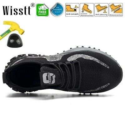 Shoes Trainers Steel Toe Cap Work