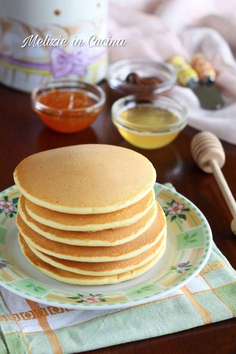 Pancake senza burro morbidissimi e superveloci
