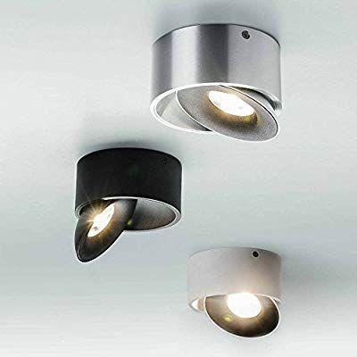 Deckenleuchte Aluminium LED Modern silber Warmweiß dimmbar