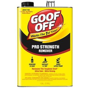 Goof Off Professional 1 Gallon At Lowes Com Goof Off Paint