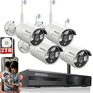 Best Outdoor Wireless Security Camera System With Dvr And Monitor Wireless Security Camera System Wireless Security Cameras Security Camera System