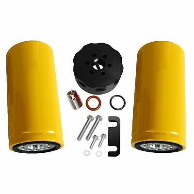 Sponsored Ebay Cat Fuel 2 Filters Adapter Kit For 01 16 Gm