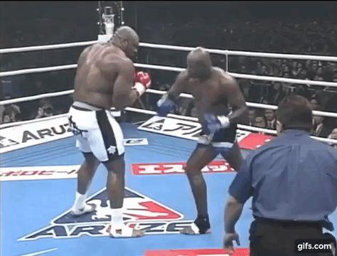 Bob Sapp Kos Ernesto Hoost Bob Sapp Combat Sport Self Defense Martial Arts