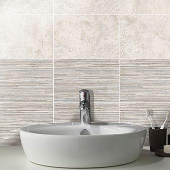 Tanami Dawn Shadow Satin Linear Bathroom Wall Tile Shadow Linear