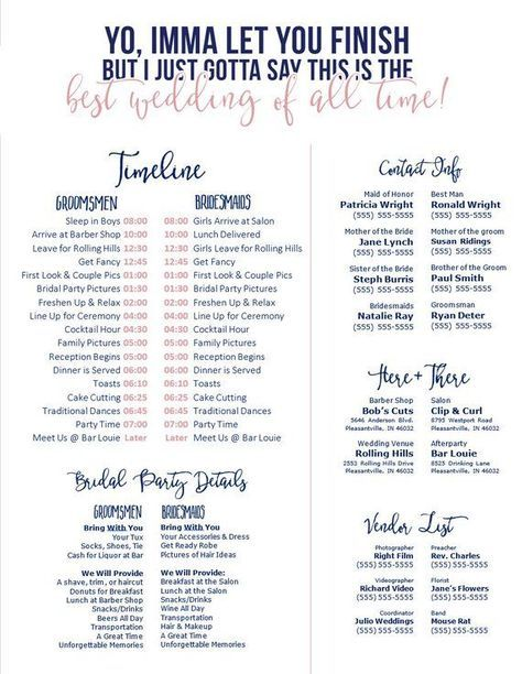 The ultimate wedding website checklist is right here at your