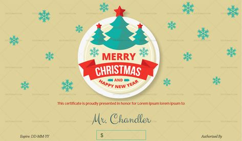 Download Christmas Gift Certificate Template (Snowflakes, #1886E) MS WORD in Microsoft Word (DOC). Christmas Gift Certificate Template (Snowflakes, #1886E) MS WORD is designed by expert designers and is completely customizable. Download, Edit  Print.