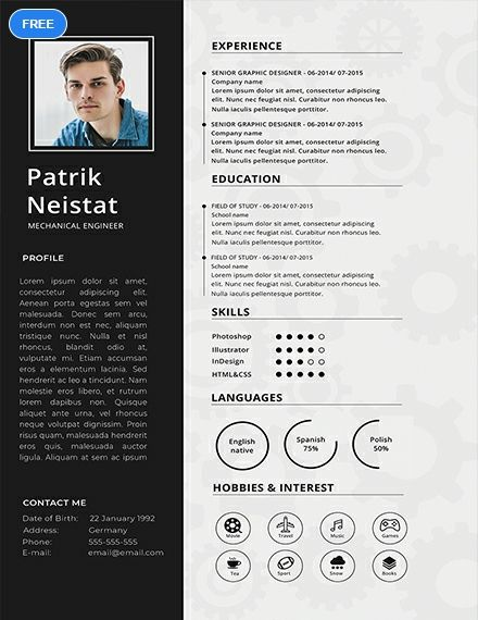 A Free Mechanical Engineer Resume Is One Thing You Can Get To Help You Reach Your Ca Mechanical Engineer Resume Engineering Resume Templates Engineering Resume