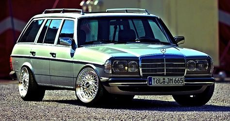 W123  280T with BBS