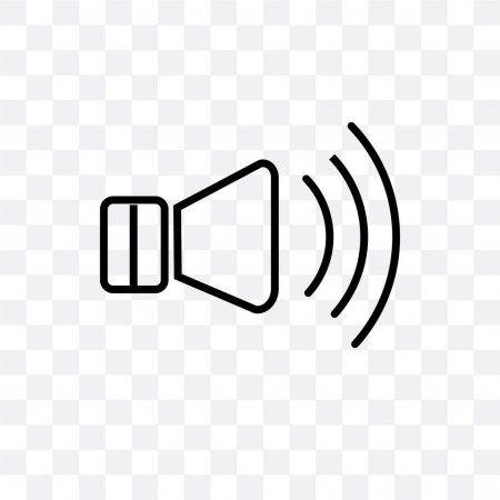 high volume loudspeaker vector icon isolated on transparent back stock aff loudspeaker vector in 2020 loudspeaker klipsch speakers loudspeaker audio amplifier high volume loudspeaker vector icon