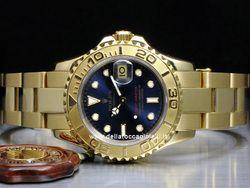 design senza tempo 71f6f 82087 Rolex - Yacht-Master Lady 69628 Cassa: oro giallo - 29 mm ...