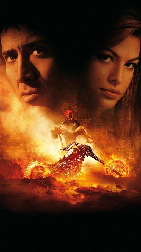 Ghost Rider (2007) Phone Wallpaper | Moviemania