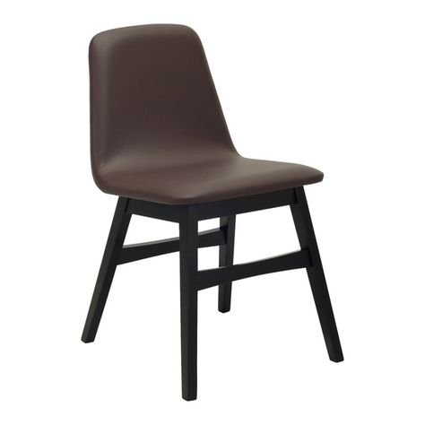 Avice Mocha Dining Chairs Modern Furniture Melbourne Sydney