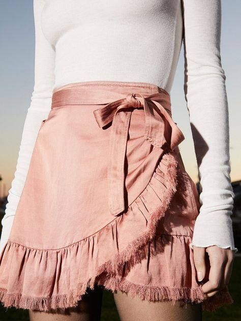 Cute holiday party outfit inspo from free people! FP One Tuxedo Mini Skirt