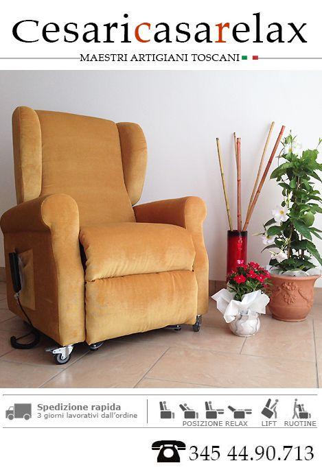 Poltrone Relax Cesari Casa Relax Consegna a Bergamo in 3 giorni ...