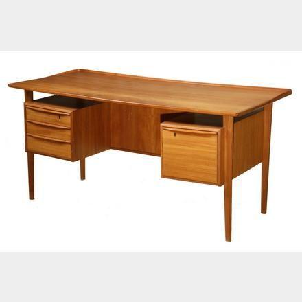 Danish Modern Desk By Gunni Omann Ree Standing Desk With