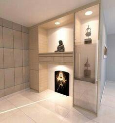 Pin by Tan Leonard on Altar design | Pinterest | Altars, Puja room ...
