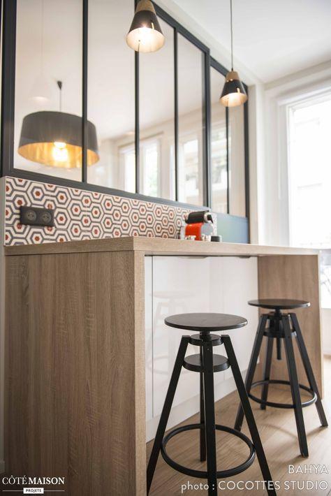 Realisation Cocottes Studio Sol Et Credence En Carreaux De Ciment