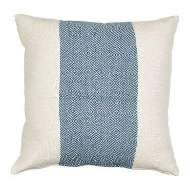 Poduszka Pasek Rural 45 X 45 Cm Indygo Pillows Throw Pillows Bed