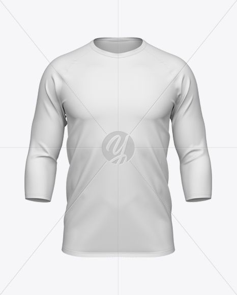 Download Men S Baseball T Shirt 3 4 Sleeve Mockup In Apparel Mockups On Yellow Images Object Mockups Clothing Mockup Baseball Tshirts Shirt Mockup PSD Mockup Templates